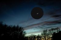 Venus - Crescent Inset