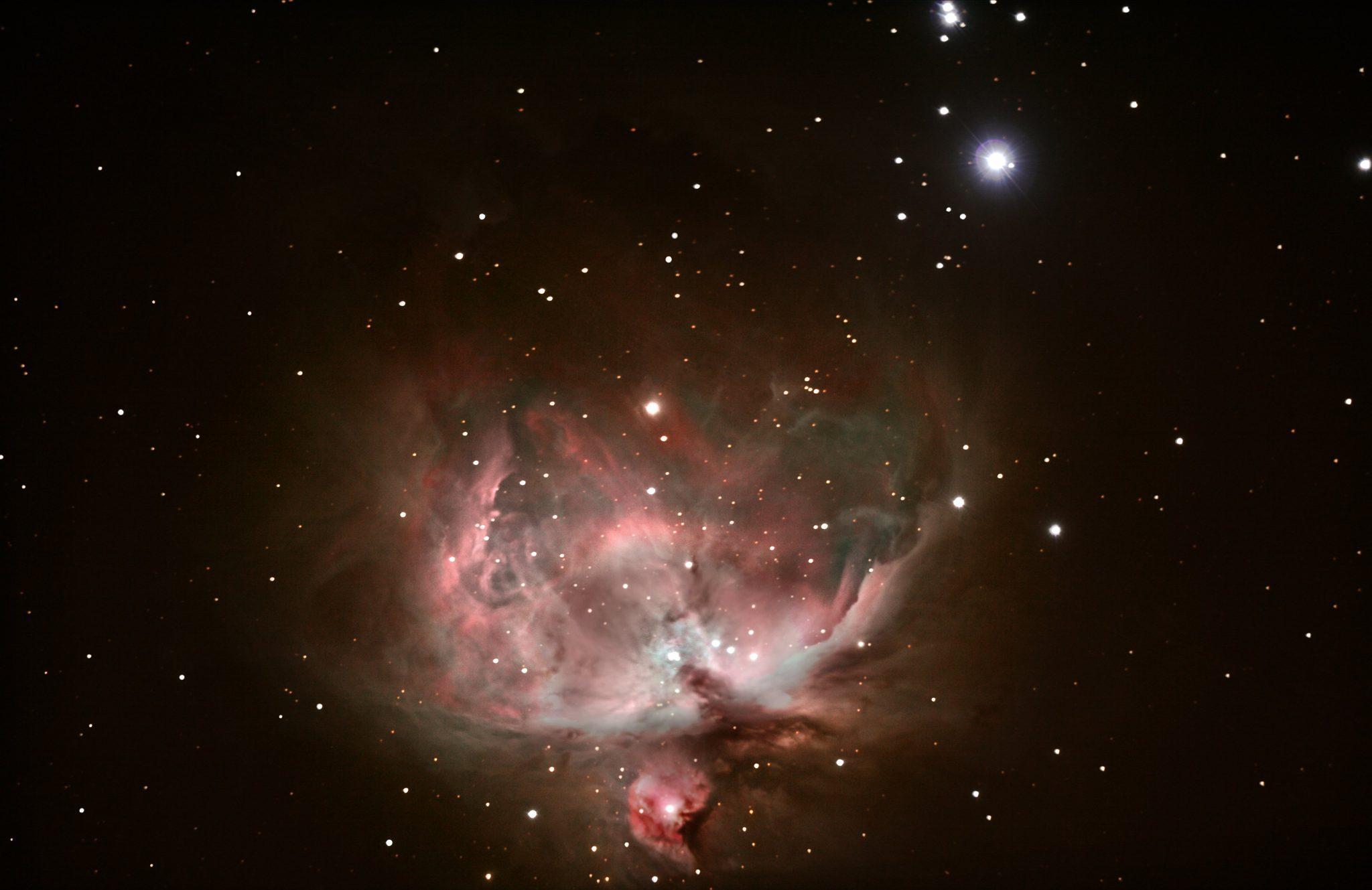 Find The Orion Nebula The Arkansas Skydome Planetarium